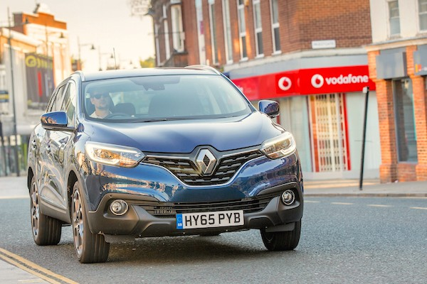 Renault Kadjar UK May 2016