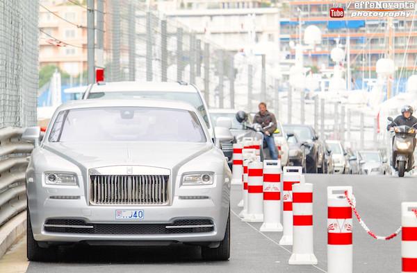 Rolls Royce Wraith Monaco 2015