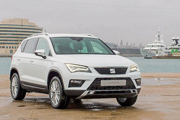 Seat Ateca Spain February 2016. Picture courtesy autobild.de