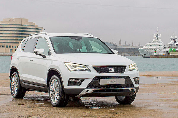 Seat Ateca Spain 2016. Picture courtesy autobild.de