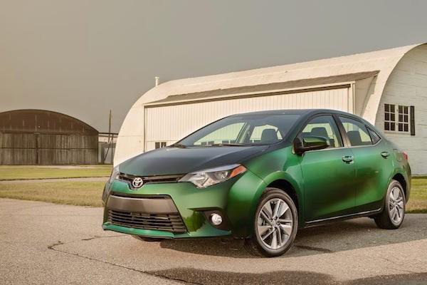 Toyota Corolla USA 2015. Picture courtesy caranddriver.com