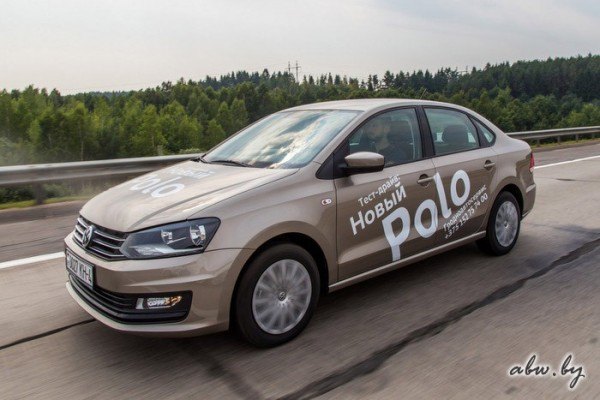 VW Polo Belarus June 2016. Picture courtesy abw.by