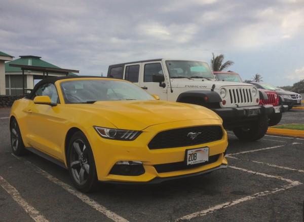 1. Ford Mustang Punalu'u