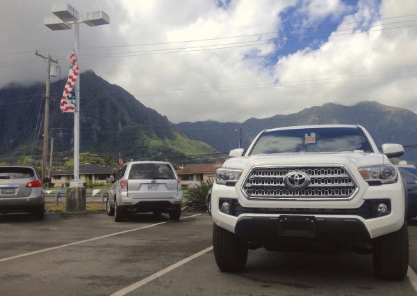 1. Toyota Tacoma Windward