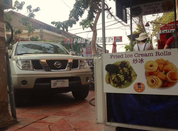 9. Nissan Navara Siem Reap