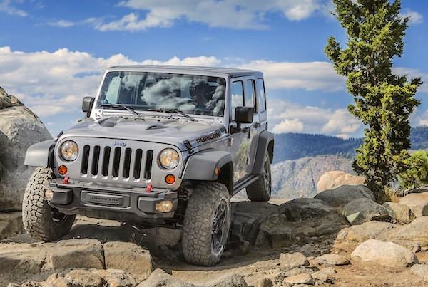Jeep Wrangler USA March 2016