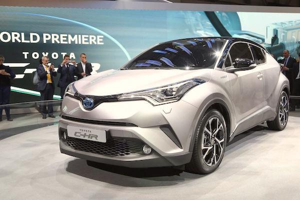 Toyota CH-R World 2016