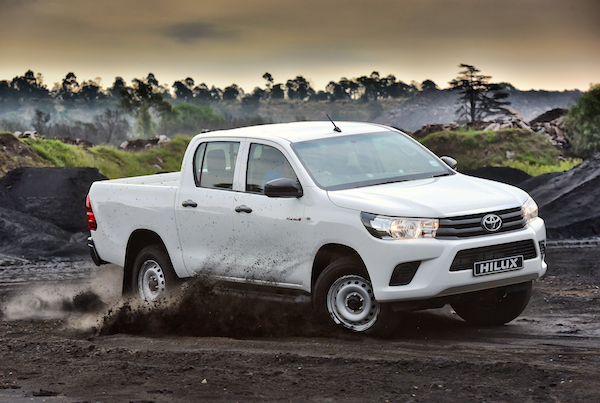 Toyota Hilux Malawi March 2016