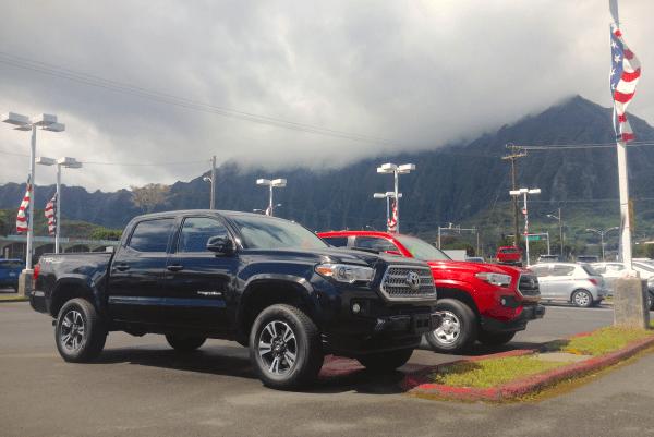 Toyota Tacoma Oahu 1