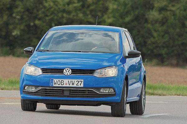 VW Polo Netherlands July 2016. Picture courtesy autobild.de