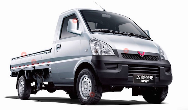 Wuling Mini Truck China May 2016