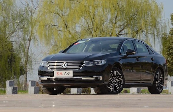 Dongfeng Aeolus A9 China April 2016. Picture courtesy emao.com