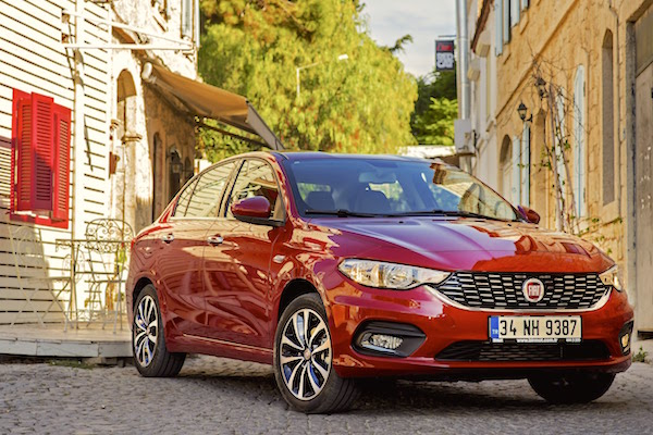 Fiat Egea Turkey April 2016