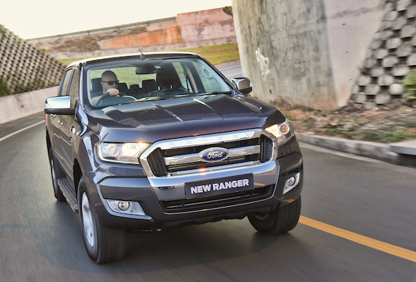 Ford Ranger Vietnam April 2016
