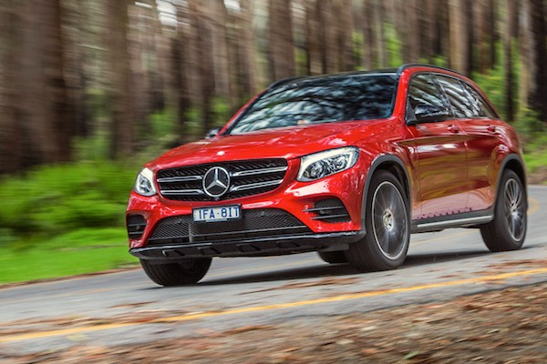 Mercedes GLC Australia October 2016