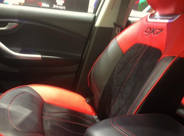 Soueast DX7 interior Pic1