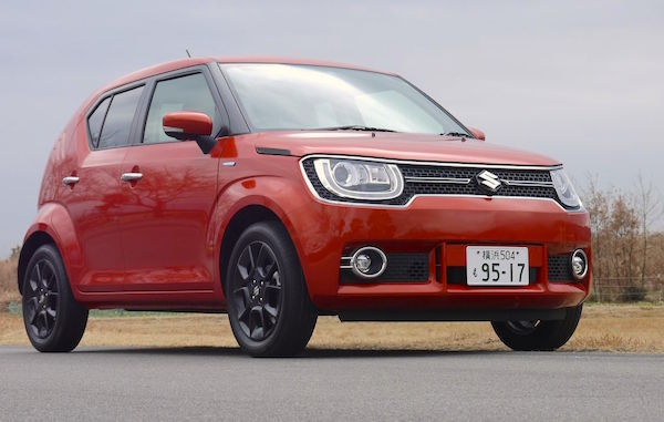 Suzuki Ignis Japan April 2016. Picture courtesy antenna.jp