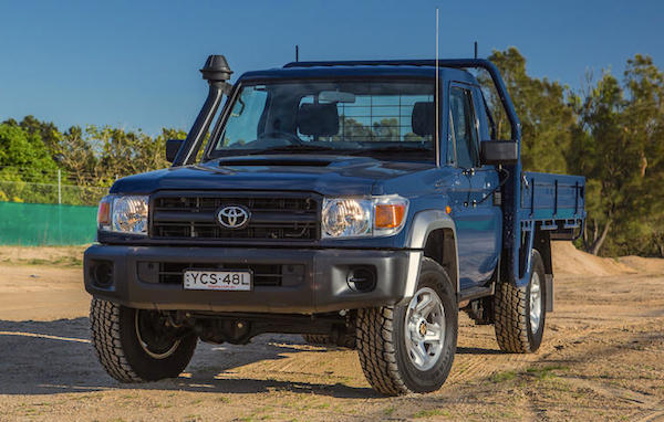 Toyota Land Cruiser 70 Papua New Guinea 2015. Picture courtesy caradvice.com.au