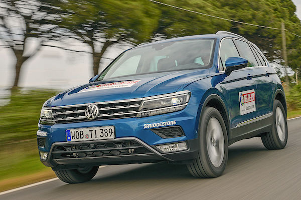 VW Tiguan Turkey May 2016. Picture courtesy autobild.de