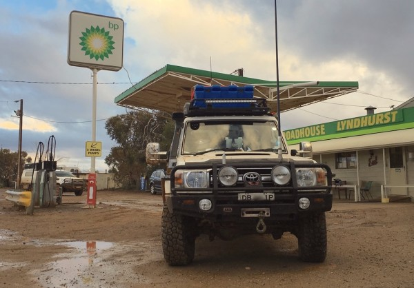 5. Toyota Land Cruiser 70 Lyndhurst Roadhouse