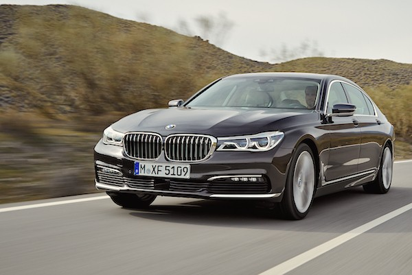 BMW 7 Series Germany May 2016
