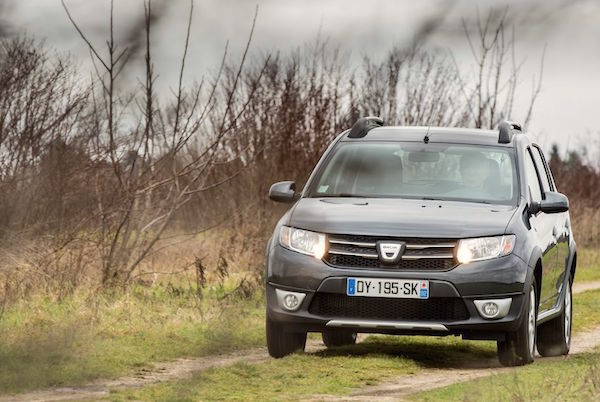 Dacia Sandero Moldova October 2016. Picture courtesy largus.fr
