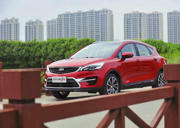 Geely Emgrand GS China May 2016. Picture courtesy weiboribau.net