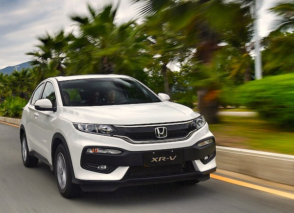 Honda XR-V China May 2016. Picture courtesy autohome.com.cn