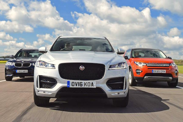 Jaguar F-Pace Europe June 2016. Picture courtesy autoexpress.co.uk