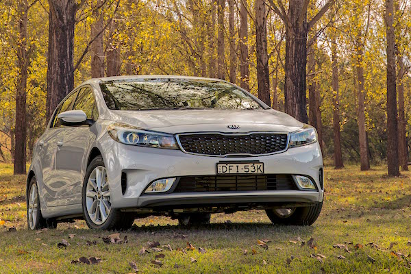 Kia Cerato Turkey June 2016