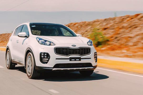 Kia Sportage Mexico April 2016. Picture courtesy autocosmos.com.mx
