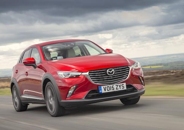 Mazda CX-3 Spain June 2016
