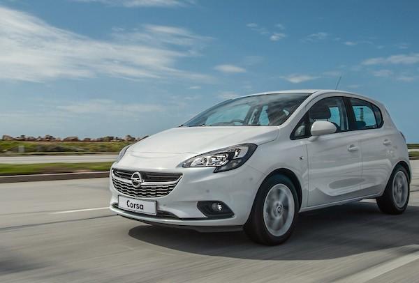 Opel Corsa Spain May 2016