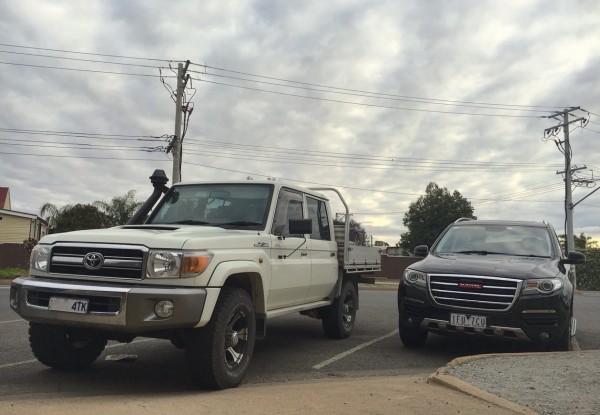Toyota Land Cruiser ute Broken Hill