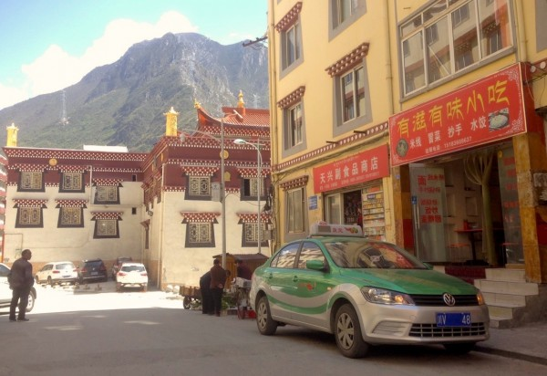 1. VW Jetta Taxi Kangding China 2016