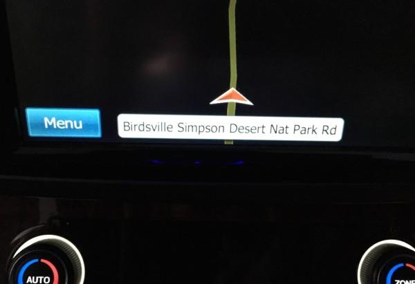 Birdsville Simspon Desert Road