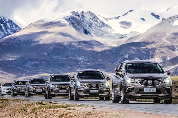Buick Envision China June 2016