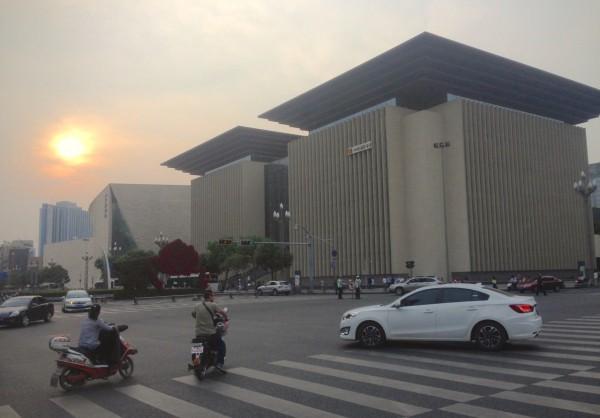 Chengdu street scene 4 Chengdu China 2016