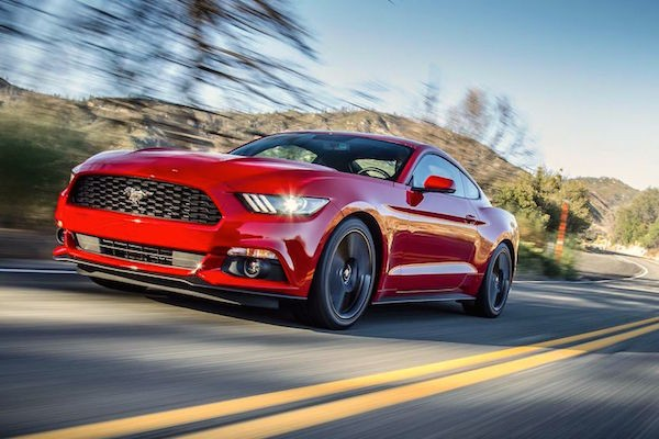 Ford Mustang Australia August 2016