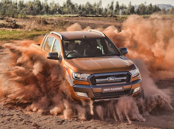 Ford Ranger Vietnam June 2016