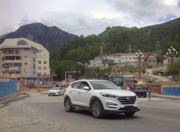 Hyundai Tucson Kangding China 2016