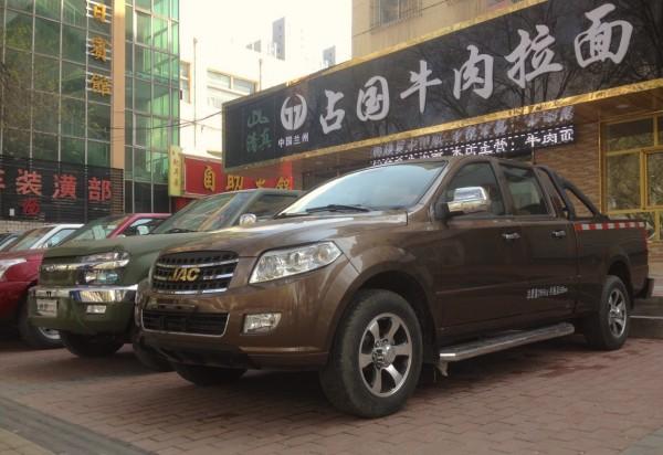 JAC Pickups Xining China 2016