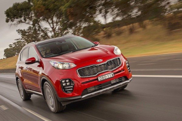 Kia Sportage Australia October 2016