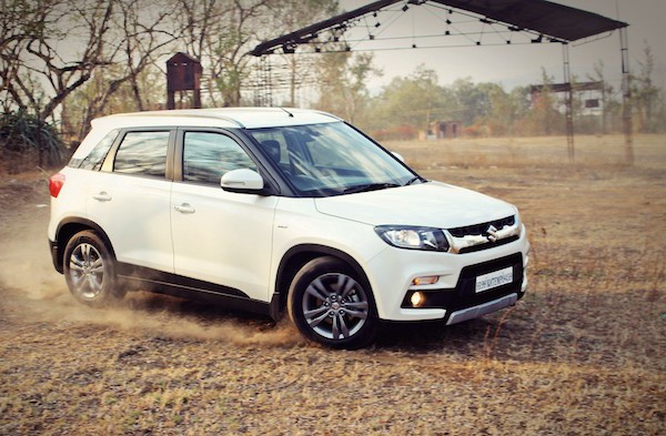 Maruti Vitara Brezza India June 2016. Picture courtesy motoroids.com