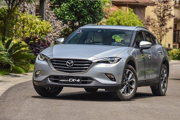 Mazda CX-4 China June 2016. Picture courtesy autohome.com.cn
