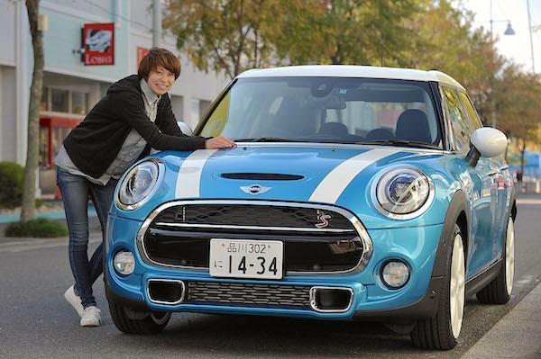 Mini 5 doors Japan 2016