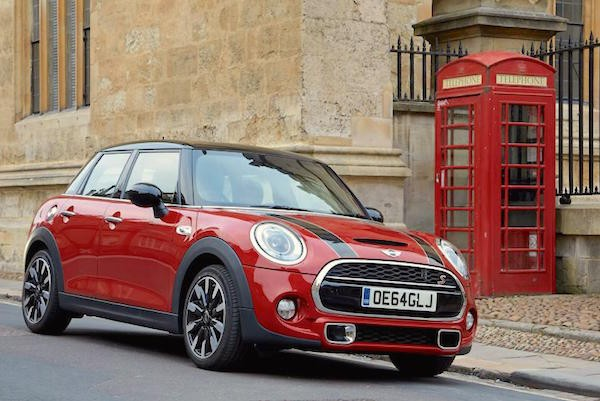 Mini UK June 2016. Picture courtesy autocar.co.uk