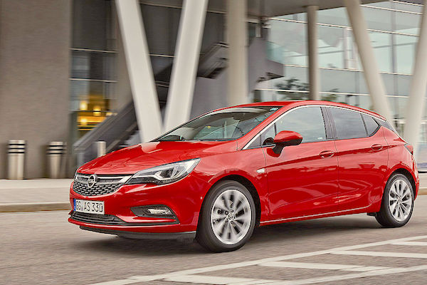Opel Astra Europe July 2016. Picture courtesy autobild.de