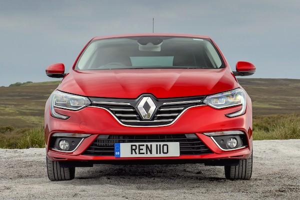 Renault Megane Spain December 2016