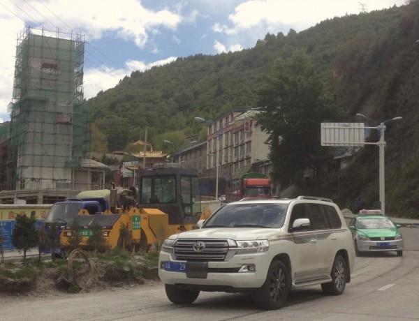 Toyota Land Cruiser Kangding China 2016